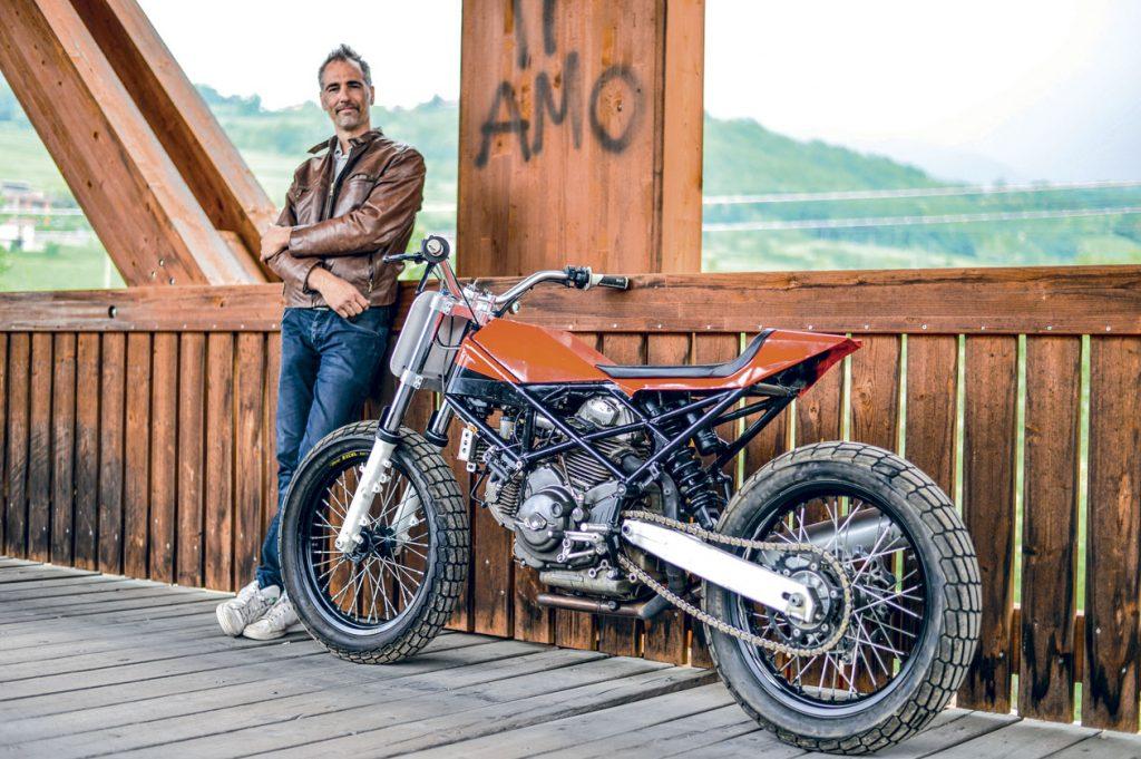 Jacopo Monti e la Ducati 750
