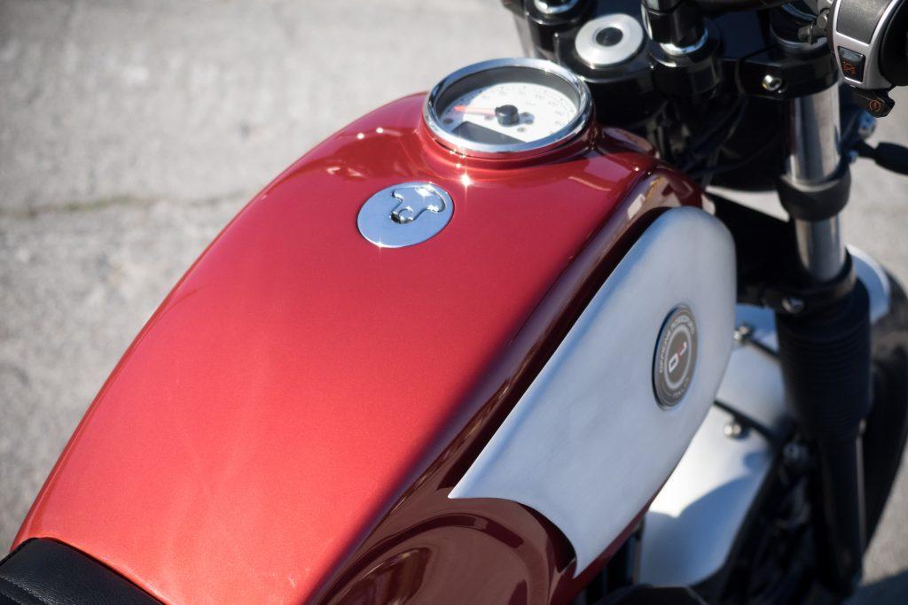 Moto Guzzi V-IX by Officine Rossopuro