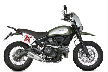 Scrambler800 - DELTA RACE Inox